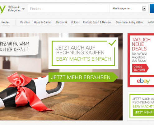 ebay Webseite