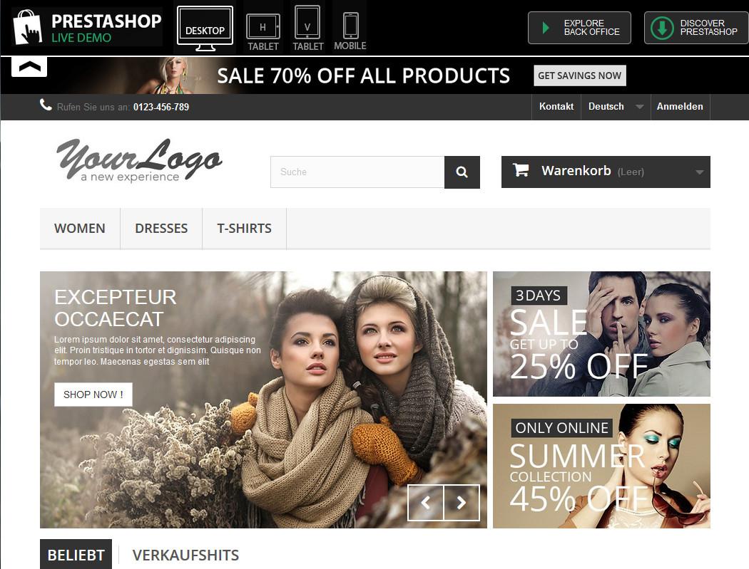 prestashop_demo_website