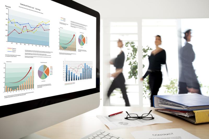 Faktura-XP® Warenwirtschaftssystem im täglichen Büroeinsatz