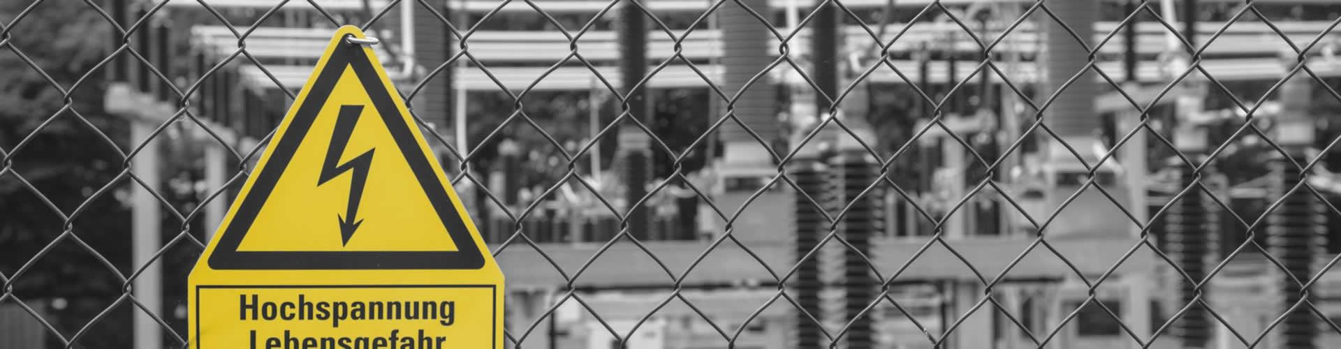 Titelbild Hochspannung Faktura-XP® Warenwirtschaftssystem