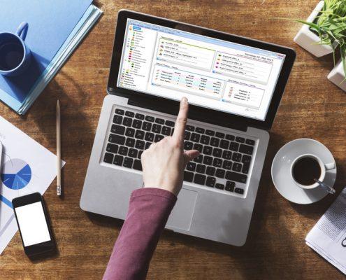 Faktura-XP® Warenwirtschaftssystem im täglichen Einsatz ob Laptop oder Desktop