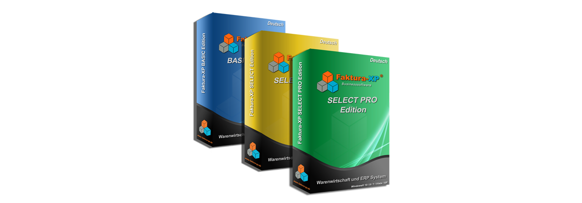 Faktura-XP Pakete