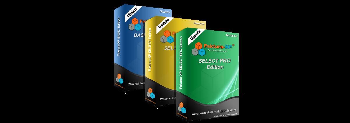 Faktura-XP Update Pakete