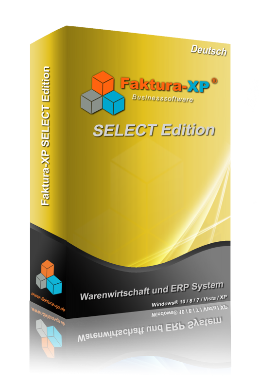 Faktura-XP SELECT Edition