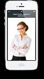 Faktura-XP APP auf einem Smartphone