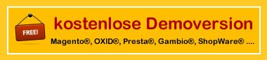 Kostenlose Demoversion - Download für Windows®