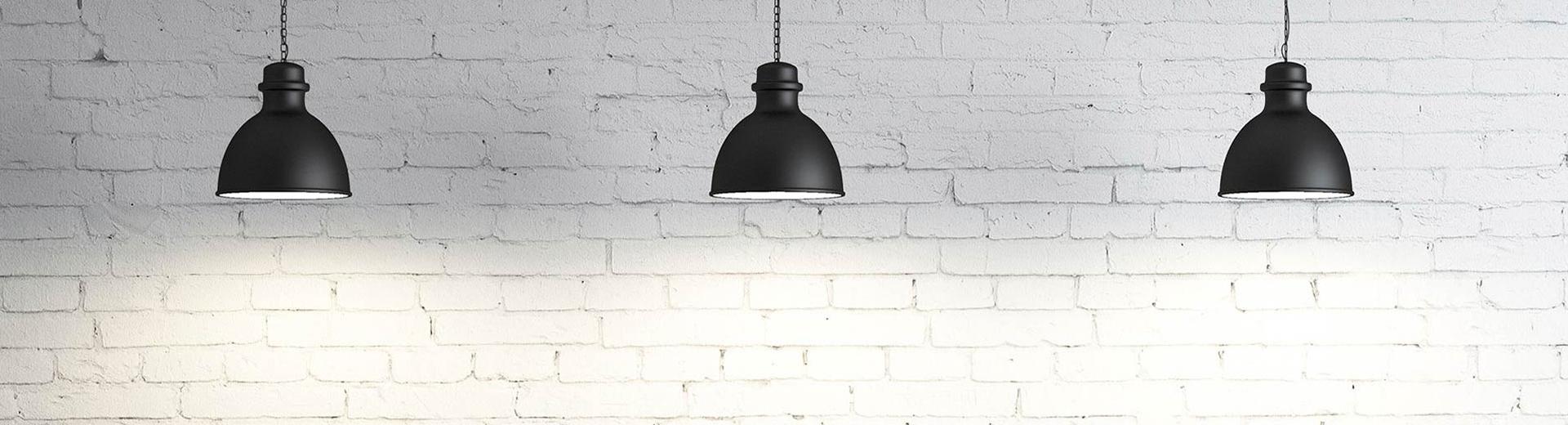 Lampen im Loft