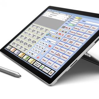 Kasse - Faktura-Cash Tablet Surface