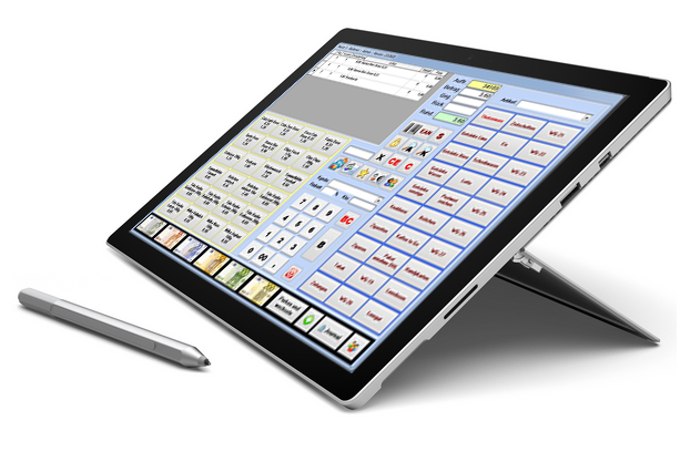 Kasse - Faktura-Cash Tablet Surface