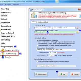 Datensicherung - Automatisch oder Manuel